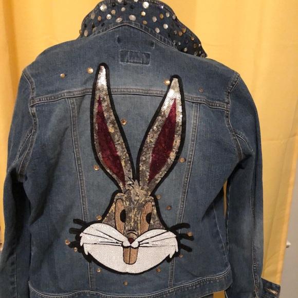 Denim Jacket Bunny
